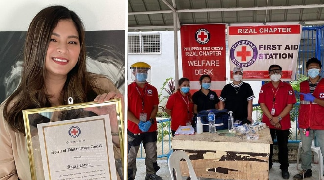 Angel Locsin honored by Philippine Red Cross with Spirit of Philanthropy award