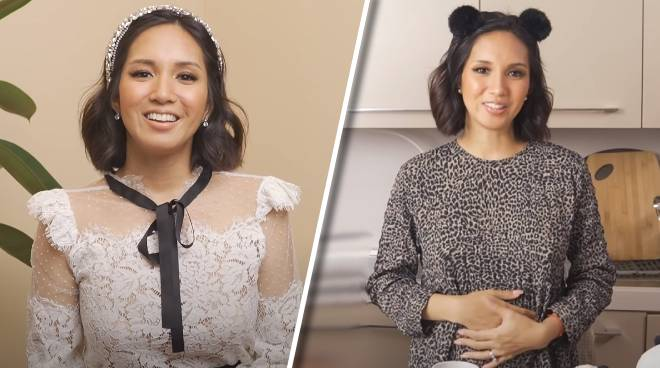 Roxanne Barcelo pregnant with first child