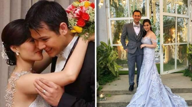 Gladys Reyes and Christopher Roxas celebrate 17th wedding anniversary