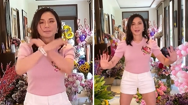 'Best birthday by far': Vicki Belo turns 65, celebrates with a dance video