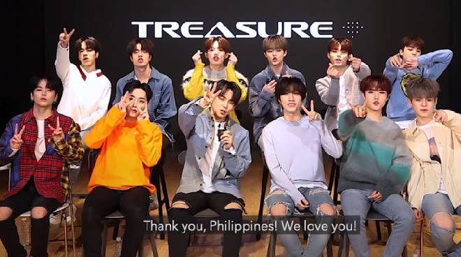 K-Pop group TREASURE: 'We are always working hard to give our Filipino fans good music'