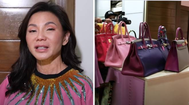 WATCH: Vicki Belo shows off Hermes bag collection in closet tour