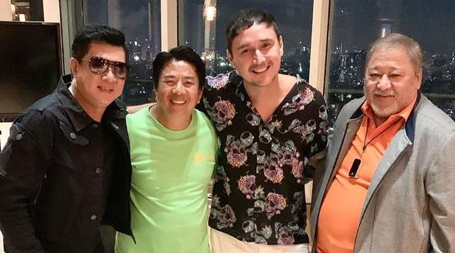 MTB boys Willie Revillame, Randy Santiago and John Estrada reunite for Willie's birthday