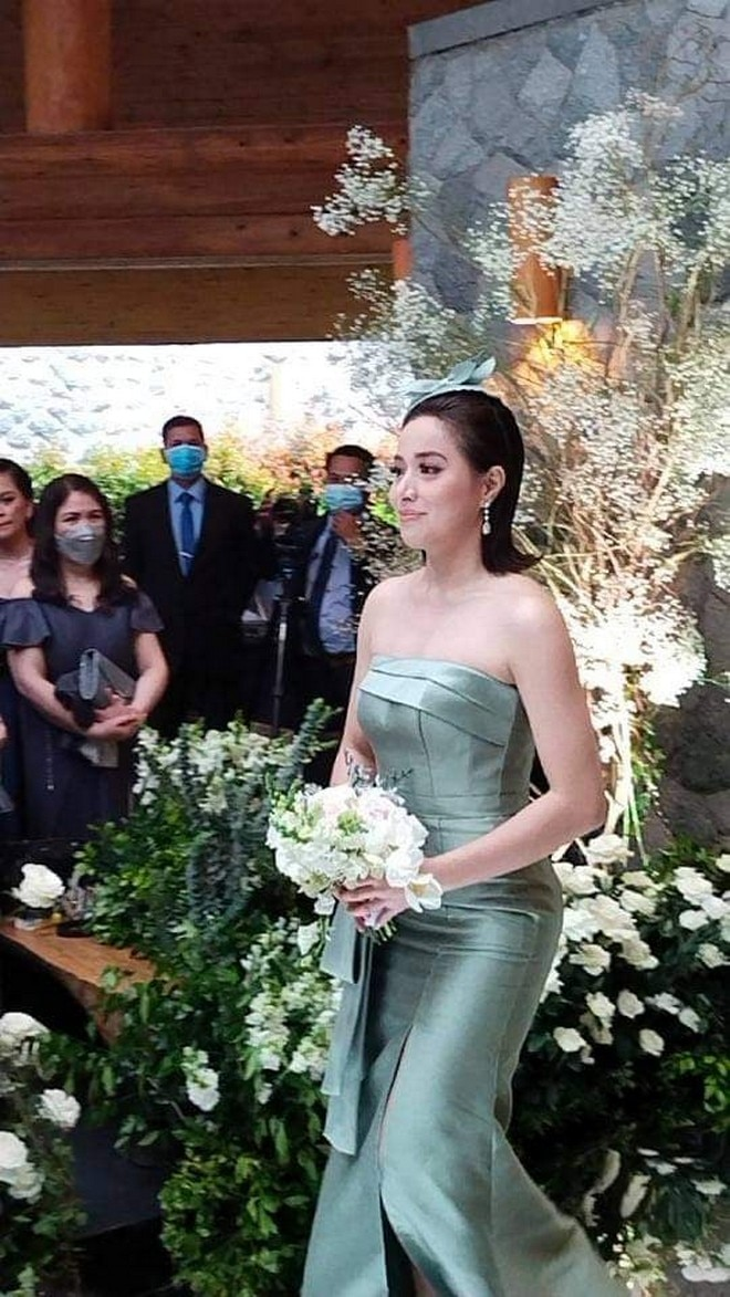 Check out the sidelights from Ara Mina and Dave Almarines' wedding.