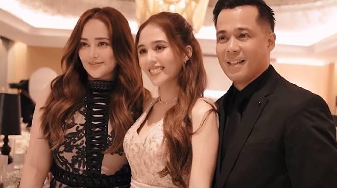 WATCH: Jayda Avanzado's intimate 18th birthday celebration