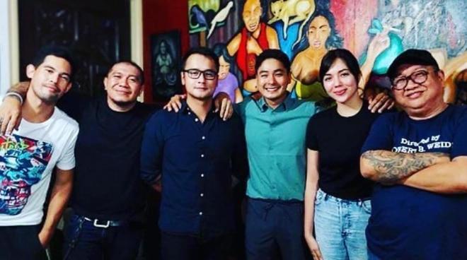 LOOK: JM de Guzman teases possible movie project with Coco Martin, Julia Montes
