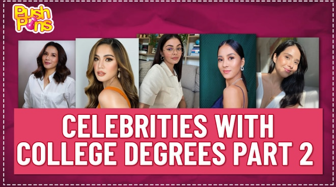 Celebrities with college degrees Part 2 | Push Pins