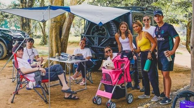 KathNiel, nag-camping kasama sina Joshua Garcia, Ria Atayde, at Sofia Andres