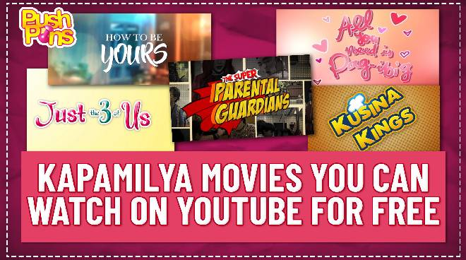 Kapamilya movies you can watch on YouTube for free | Push Pins