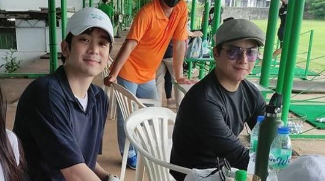 Daniel Padilla at Joshua Garcia, magkasamang nag-golf