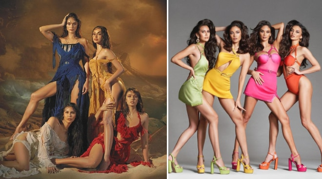 Megan Young, Pia Wurtzbach, Angelia Ong, and Kylie Verzosa grace back to back covers of Harper's Bazaar Vietnam