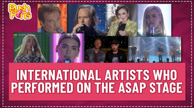 International artists who performed on the ASAP stage | Push Pins