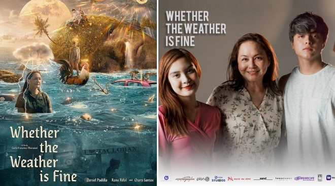 Charo Santos, Daniel Padilla's 'Whether the Weather is Fine' to screen at Toronto film fest