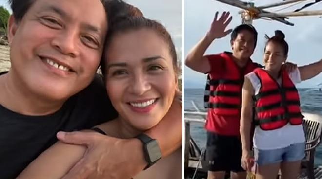 WATCH: Zsa Zsa Padilla and Conrad Onglao celebrate 7th anniversary with beach getaway