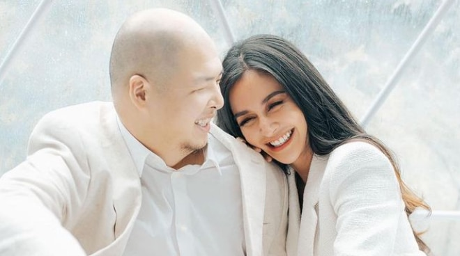 LOOK: Prenup photos of Kris Bernal and fiancé released on original wedding date