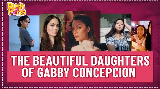 The beautiful daughters of Gabby Concepcion | Push Pins
