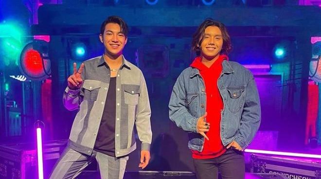 Darren Espanto reunites with fellow 'The Voice Kids' alumni Zack Tabudlo