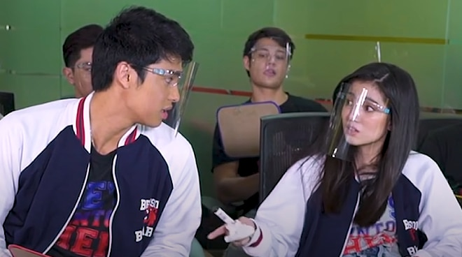 WATCH: Donny Pangilinan and Belle Mariano prank their 'He's Into Her' co-stars