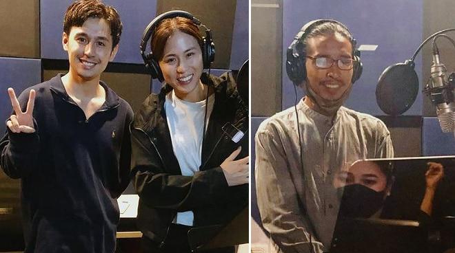 LOOK: Toni Gonzaga and Pepe Herrera finish dubbing for PH adaptation of 'My Sassy Girl'