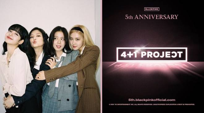 BLACKPINK to mark 5th anniversary with '4+1 project'