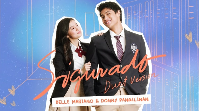 LISTEN: Donny Pangilinan and Belle Mariano's duet of 'Sigurado' is here