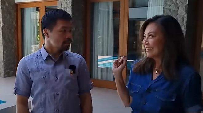 WATCH: Karen Davila takes a tour of Manny Pacquiao's house