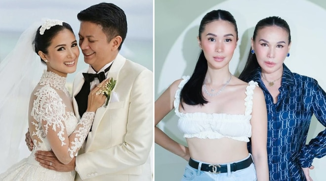 Heart Evangelista's mom praises actress' marriage to Chiz Escudero: 'You allow each other to grow'