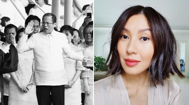 Liz Uy pays tribute to former president Noynoy Aquino