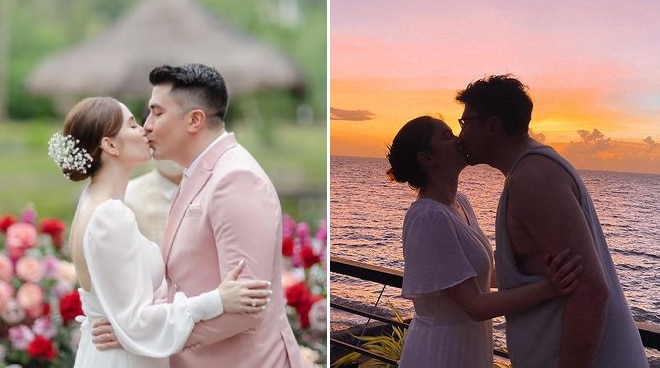 Jessy Mendiola and Luis Manzano share sweet kissing photos to mark 5th couple anniversary