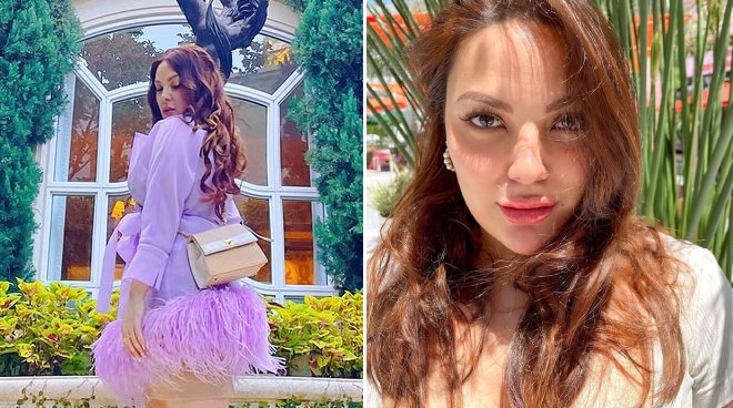 KC Concepcion flies to LA, her first international trip in 16 months