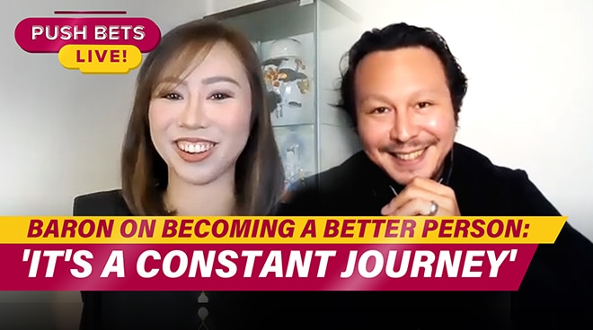 Baron Geisler on becoming a better person: 'It's a constant journey' | PUSH Bets Live