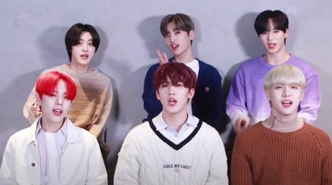 K-Pop group WEi takes on the 'Tagalog challenge'
