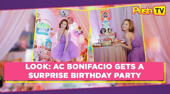 LOOK: AC Bonifacio gets a surprise birthday party