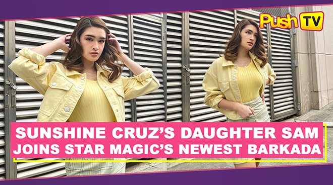 Sunshine Cruz's daughter Sam joins Star Magic's newest barkada