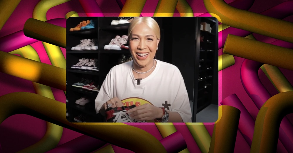 WATCH: Vice Ganda shows off sneaker collection