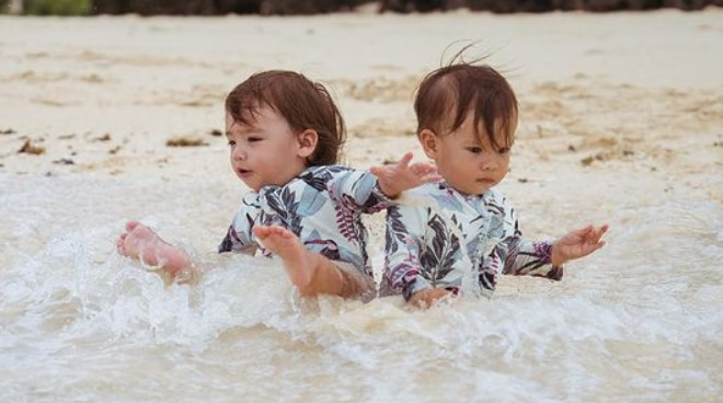 'Sobrang cute!': Adorable photos of cousins Dahlia and Thylane have netizens gushing