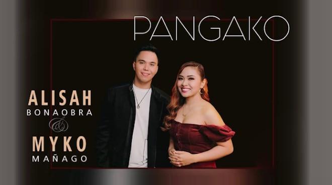 X-Factor UK contestant Alisah Bonaobra and Myko Manago, team up for 'Pangako'