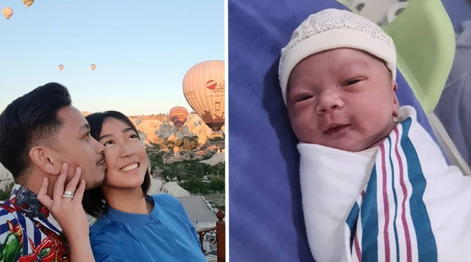 Jhong Hilario welcomes arrival of baby daughter Sarina