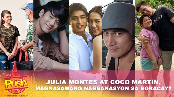 Julia Montes at Coco Martin, spotted sa Boracay? | Push Most Wanted