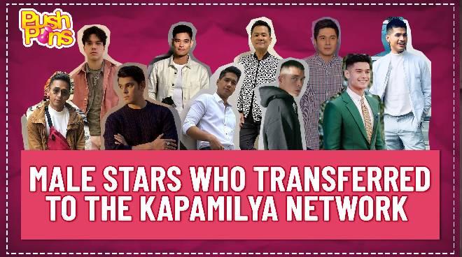Male stars who transferred to the Kapamilya network | Push Pins