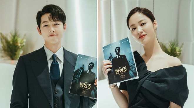 'There was always good energy on set': Song Joong Ki and Jeon Ye Bin share experience filming 'Vincenzo'