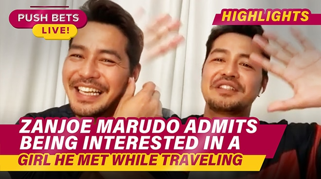 Zanjoe Marudo admits being interested in a girl he met while traveling | Push Bets Highlights