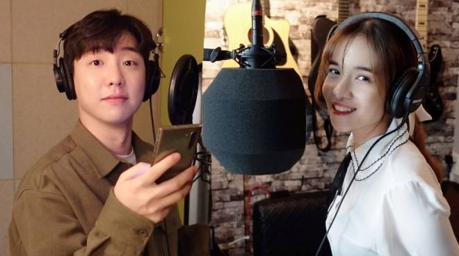 Kristel Fulgar records her first original Korean song for a Fil-Korean web drama