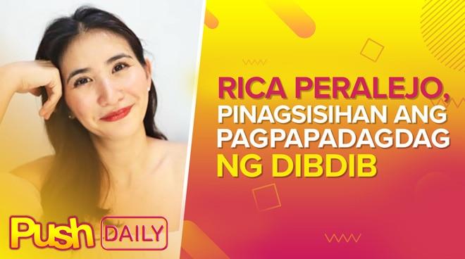 Rica Peralejo, pinagsisihan ang pagpapadagdag ng dibdib | PUSH Daily