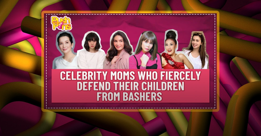 Celebrity moms who fiercely defend their children from bashers | Push Pins