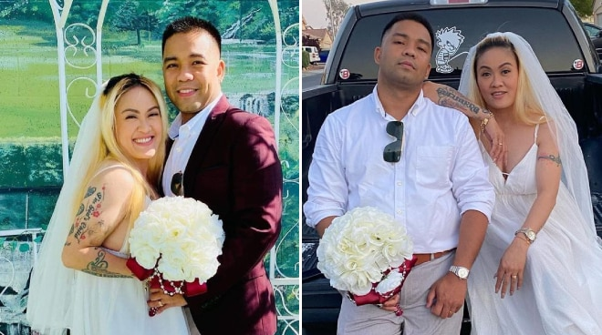 Comedienne Gladys Guevarra is now married