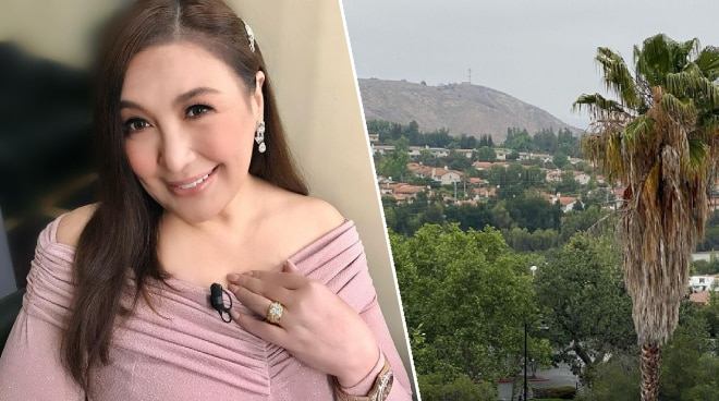 """Sharon Cuneta on being back in the US: 'I love being """"home"""" here'"""
