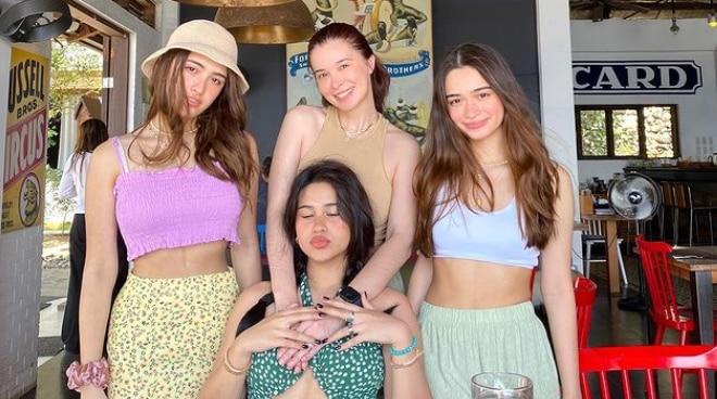 LOOK: Sunshine Cruz enjoys beach vacation with daughters