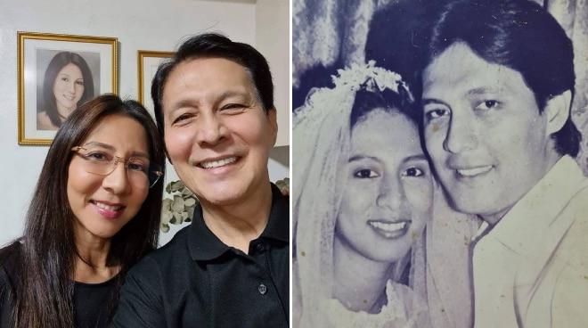 Tirso Cruz III and wife celebrate 40th wedding anniversary