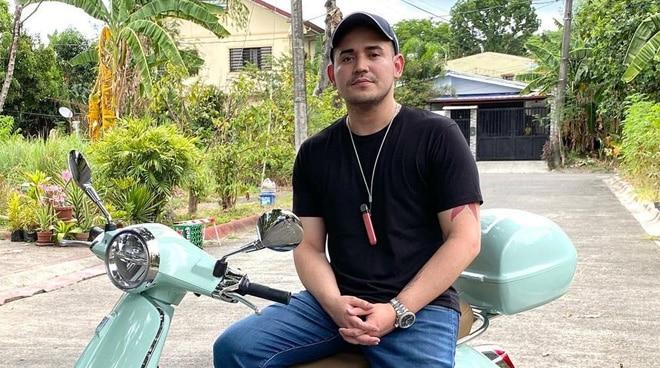 Paolo Contis, ibinida ang ipinamanang motorsiklo ng yumaong Slapshock vocalist na si Jamir Garcia